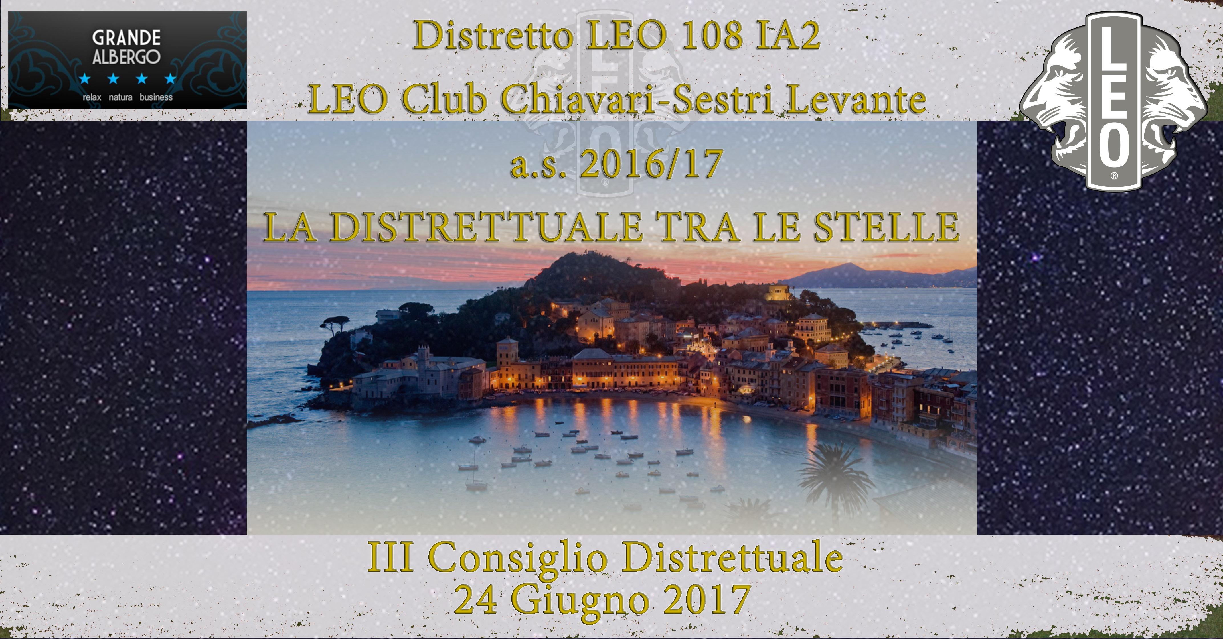 III Consiglio Distretto LEO 108 IA2